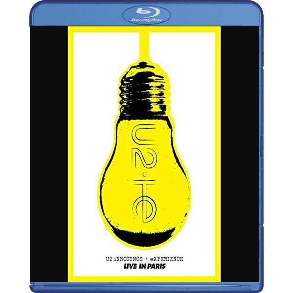 U2: INNOCENCE + EXPERIENCE LIVE IN PARIS (BLU-RAY)