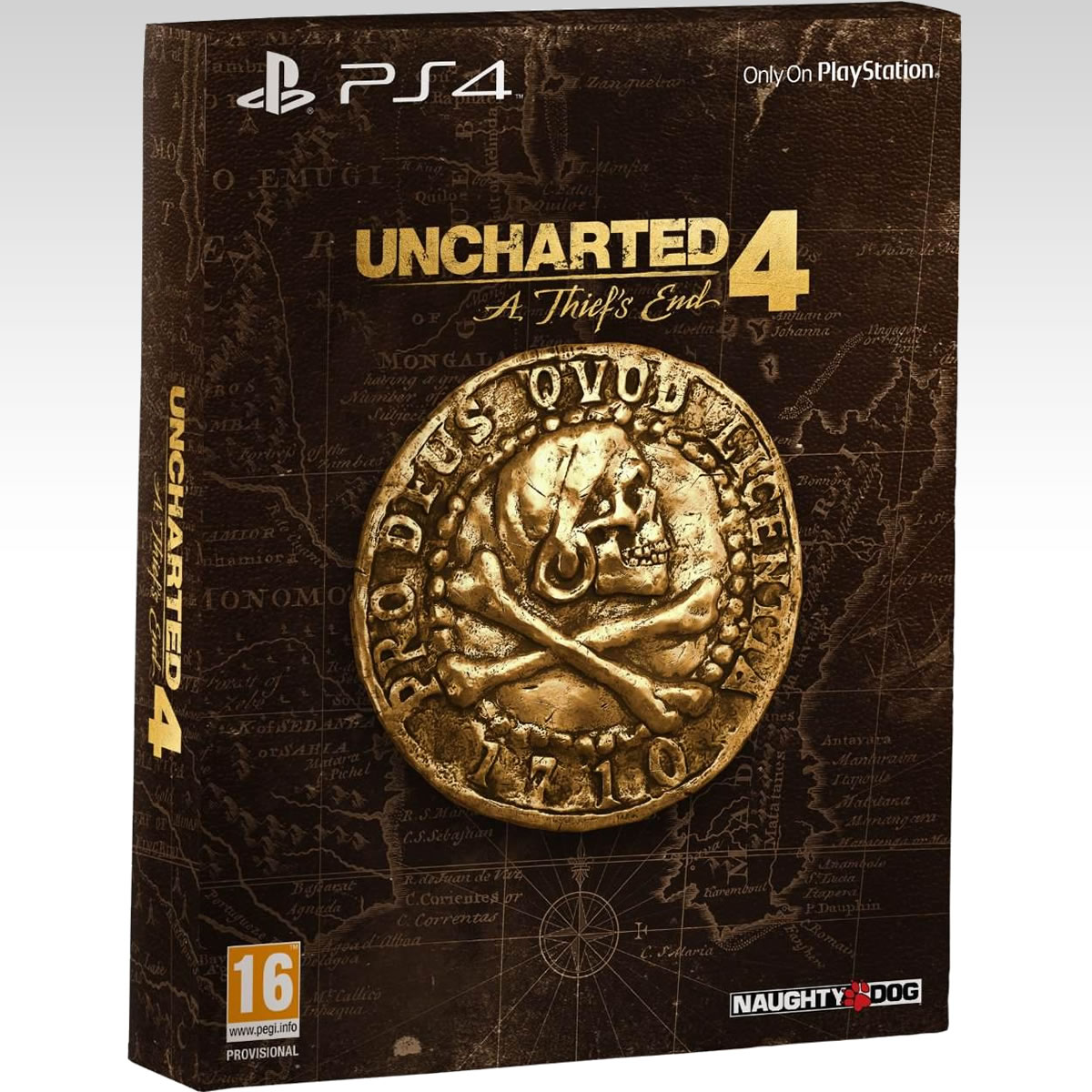UNCHARTED 4: A THIEF'S END - UNCHARTED 4: �� ����� ���� ������ [��������] Special Edition Steelbook (PS4)
