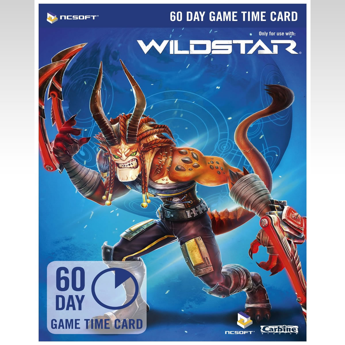 WILDSTAR 60 DAY GAME TIME CARD - WILDSTAR ������������ ����� ������ 60 ������ (PC)