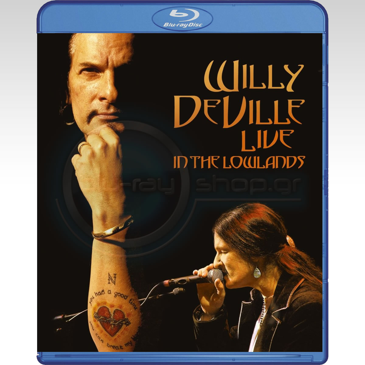 WILLY DEVILLE: LIVE IN THE LOWLANDS (BLU-RAY)