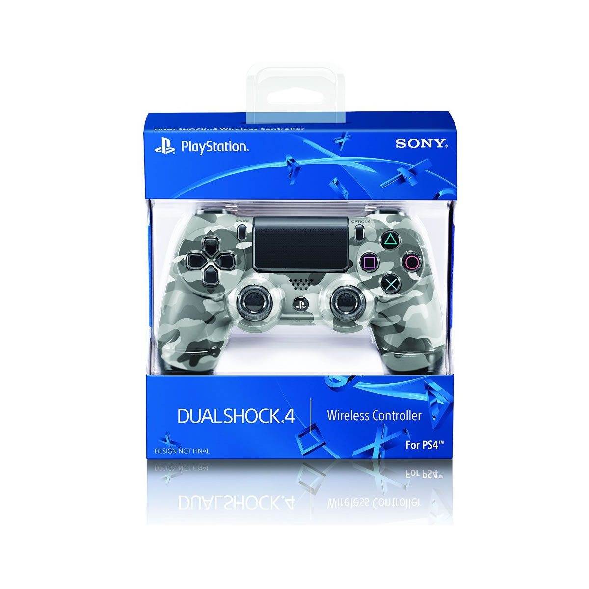 SONY OFFICIAL WIRELESS CONTROLLER DUALSHOCK 4 Urban Camouflage - SONY ������� �������� ����������� DUALSHOCK 4 ���������� (PS4)