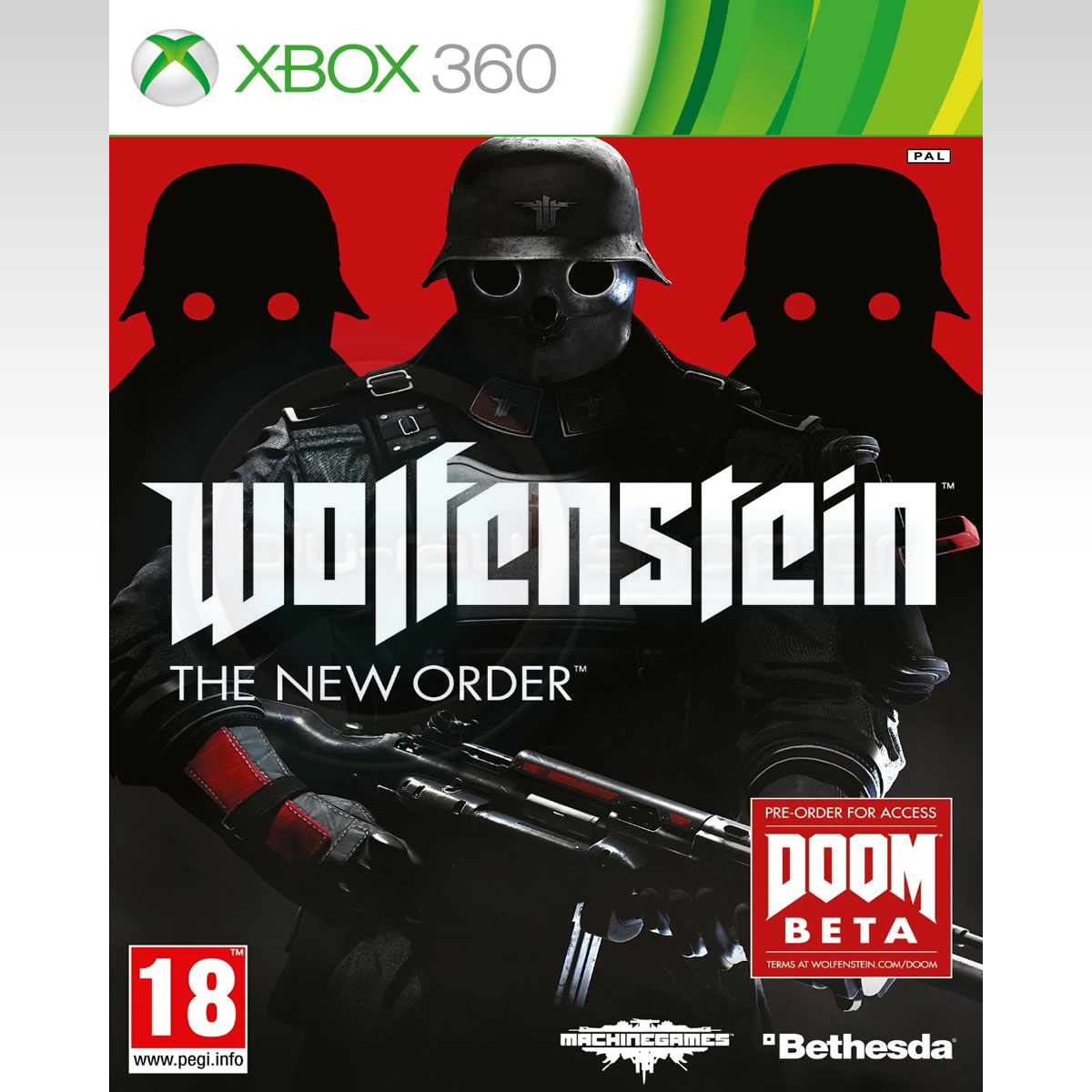 WOLFENSTEIN: NEW ORDER (XBOX 360)