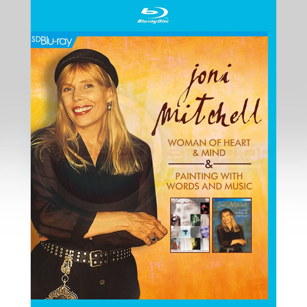 WOMAN OF HEART AND MIND + PAINTING WITH WORDS AND MUSIC [SD UPSCALED] (BLU-RAY)
