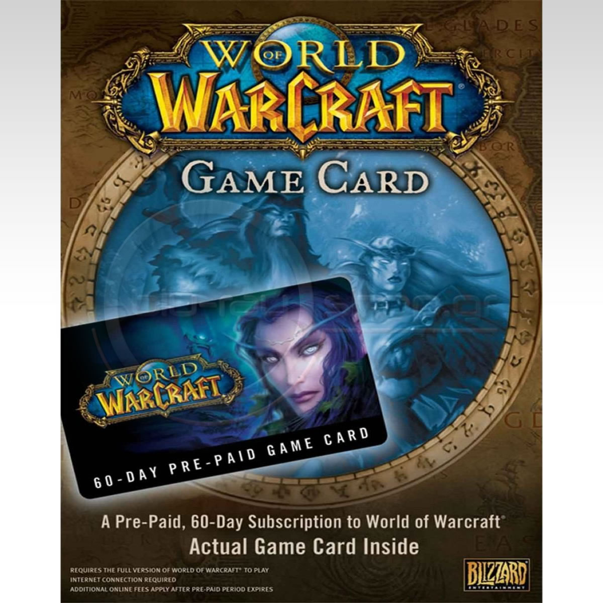 WORLD OF WARCRAFT 60-DAY PRE-PAID GAME CARD - WORLD OF WARCRAFT ΚΑΡΤΑ ΑΝΑΝΕΩΣΗΣ ΣΥΝΔΡΟΜΗΣ 60 ΗΜΕΡΩΝ (PC)