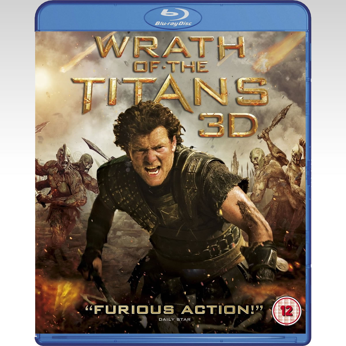 WRATH OF THE TITANS 3D - � ���� ��� ������� 3D (BLU-RAY 3D + BLU-RAY)