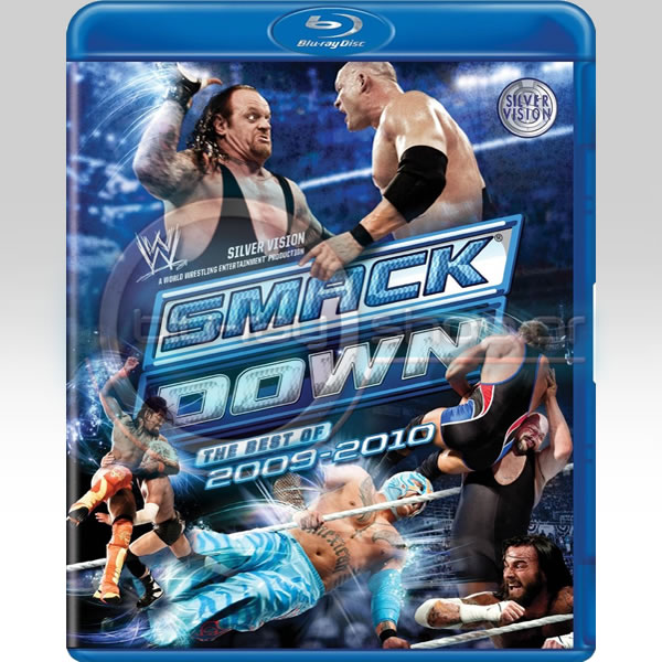 WWE SMACKDOWN THE BEST OF 2009 -2010 (2 BLU-RAY & 3 DVD COMBO)