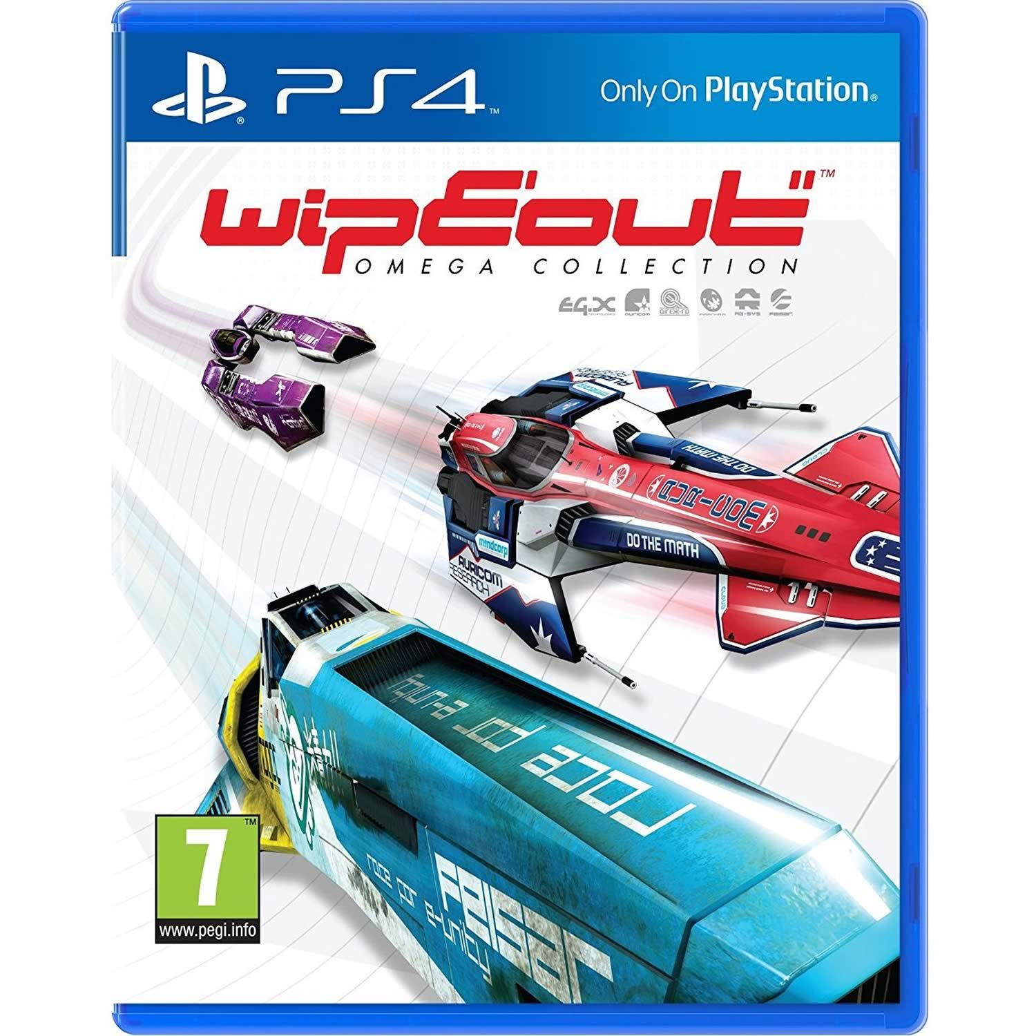 WIPEOUT: OMEGA COLLECTION [ΕΛΛΗΝΙΚΟ] (PS4)