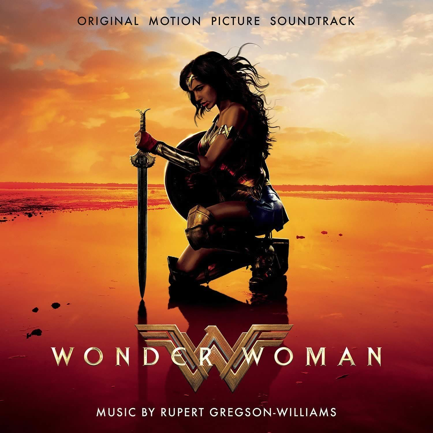 WONDER WOMAN - THE ORIGINAL MOTION PICTURE SOUNDTRACK (AUDIO CD)