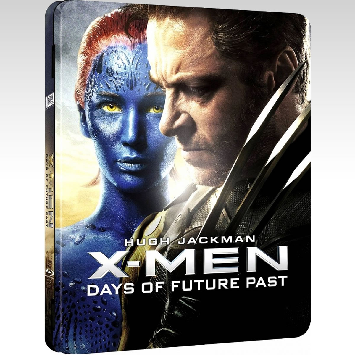 X-MEN: DAYS OF FUTURE PAST 3D - X-MEN: ������ ���� ���������� ��������� 3D Limited Collector's Edition Steelbook (BLU-RAY 3D + BLU-RAY)