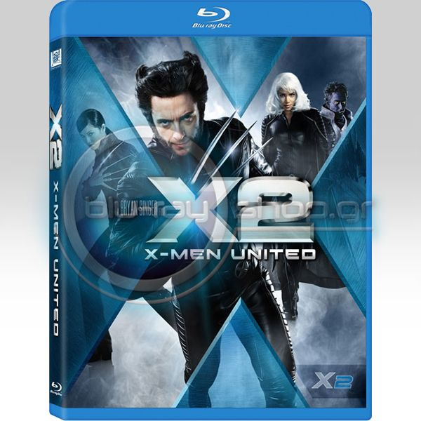 X-MEN 2 (TWO-DISC SPECIAL EDITION) (BLU-RAY)