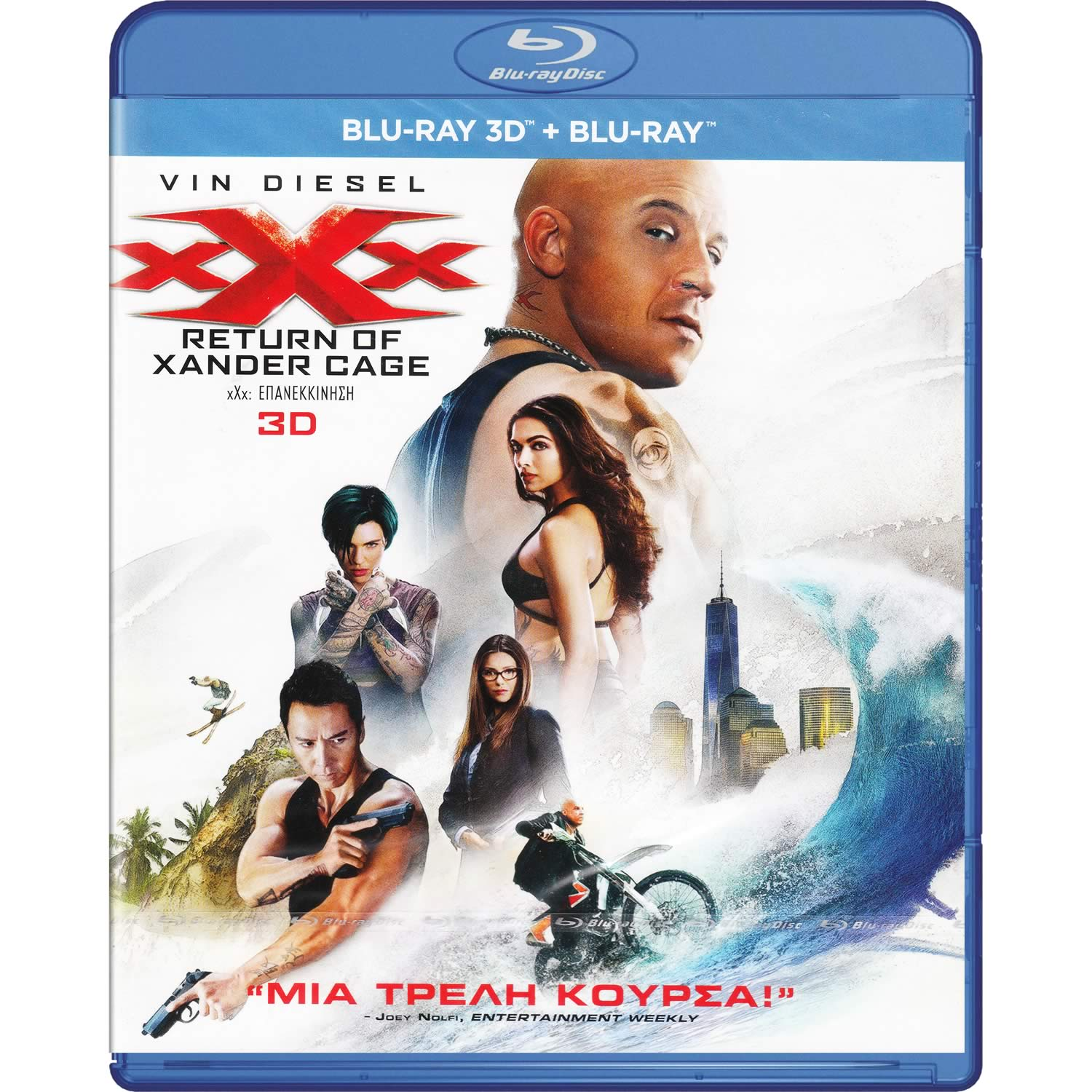 XXX: RETURN OF XANDER CAGE 3D (BLU-RAY 3D + BLU-RAY)