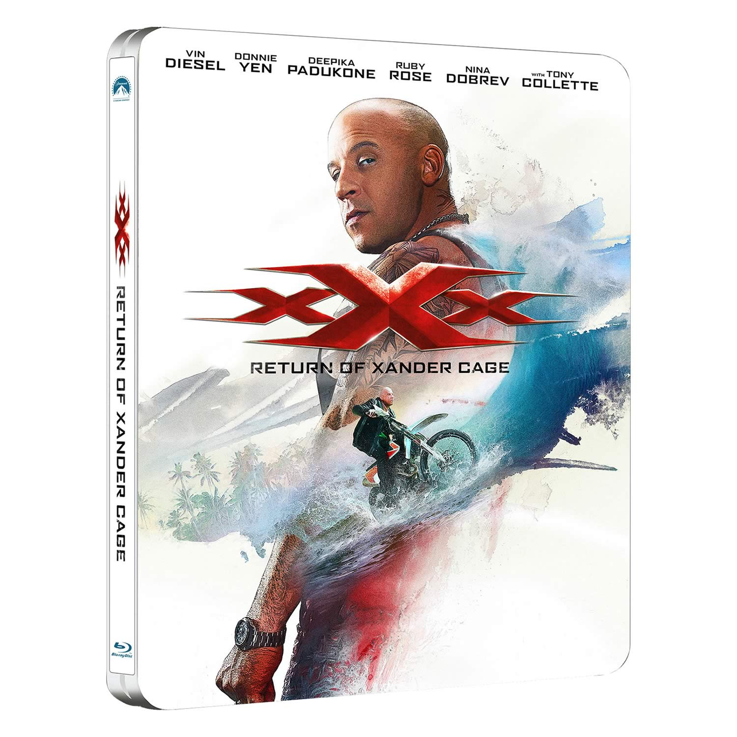 XXX: RETURN OF XANDER CAGE 3D Limited Edition Steelbook (BLU-RAY 3D + BLU-RAY)