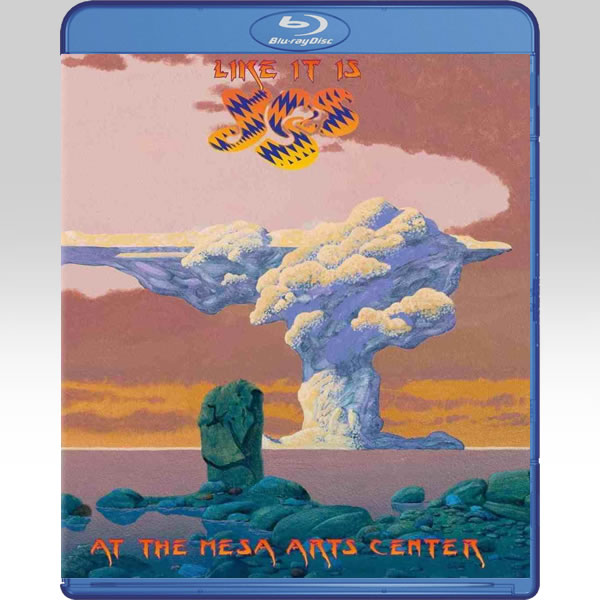 YES: LIKE IT IS - LIVE AT THE MESA ARTS CENTER (BLU-RAY)