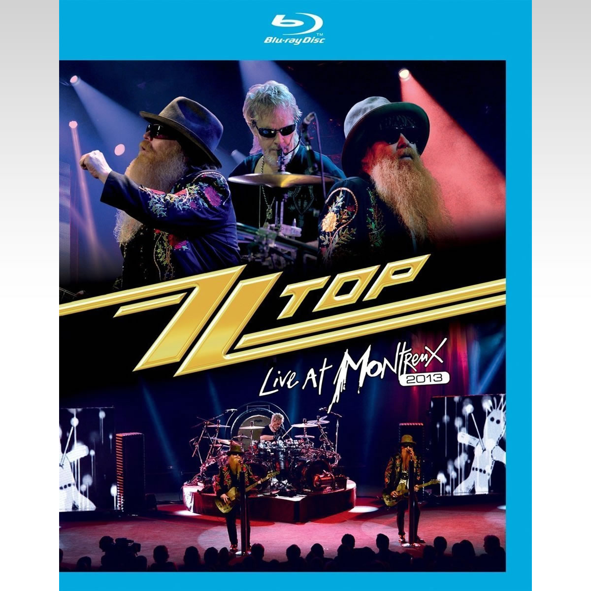ZZ TOP: LIVE AT MONTREUX 2013 (BLU-RAY)