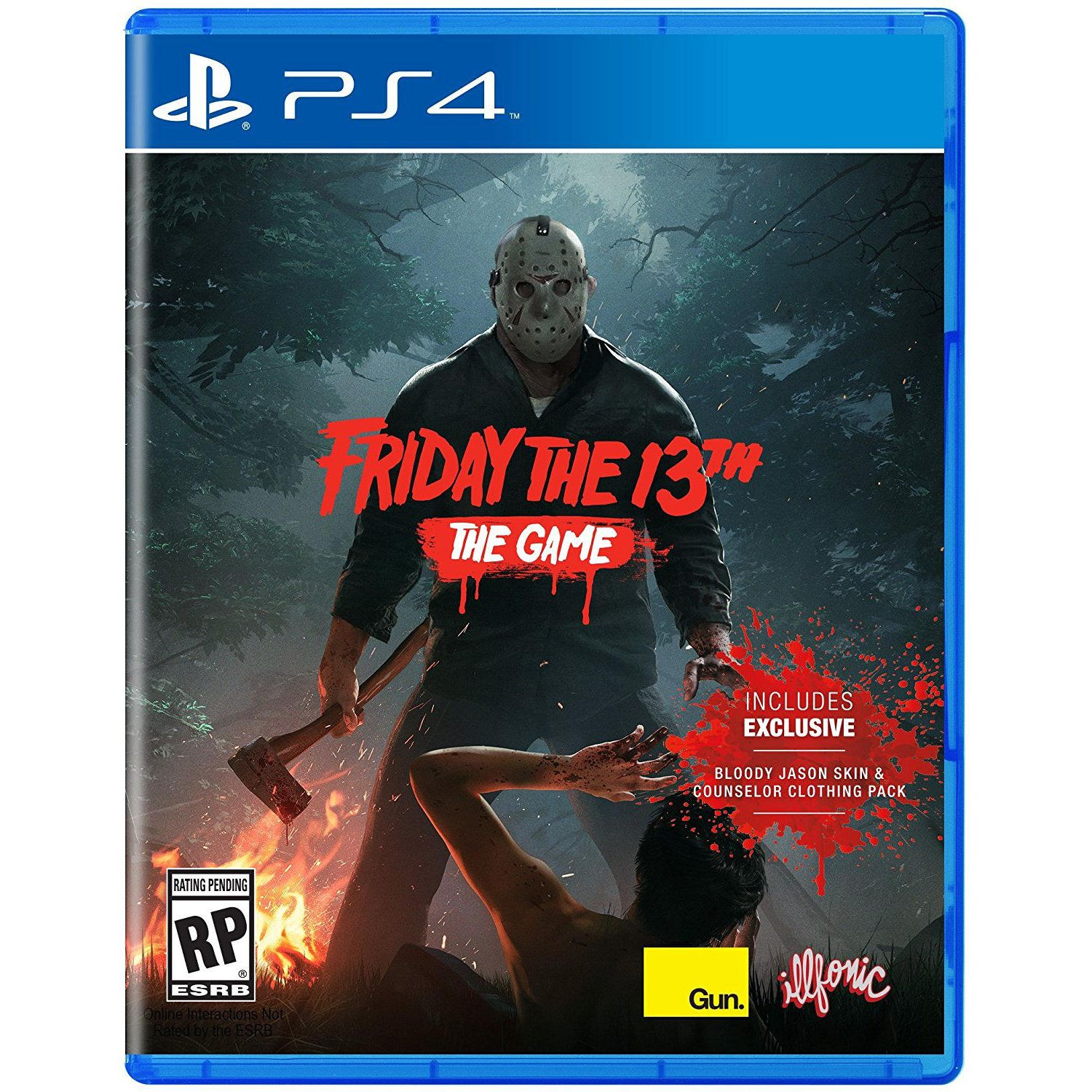 FRIDAY THE 13th - THE GAME (PS4)