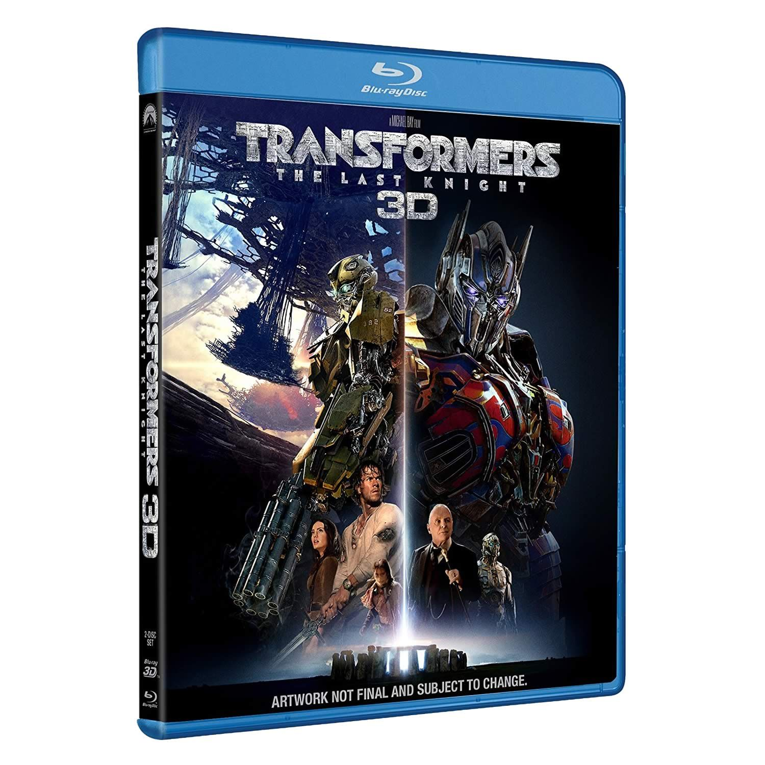 TRANSFORMERS 5: THE LAST KNIGHT 3D (BLU-RAY 3D/2D)