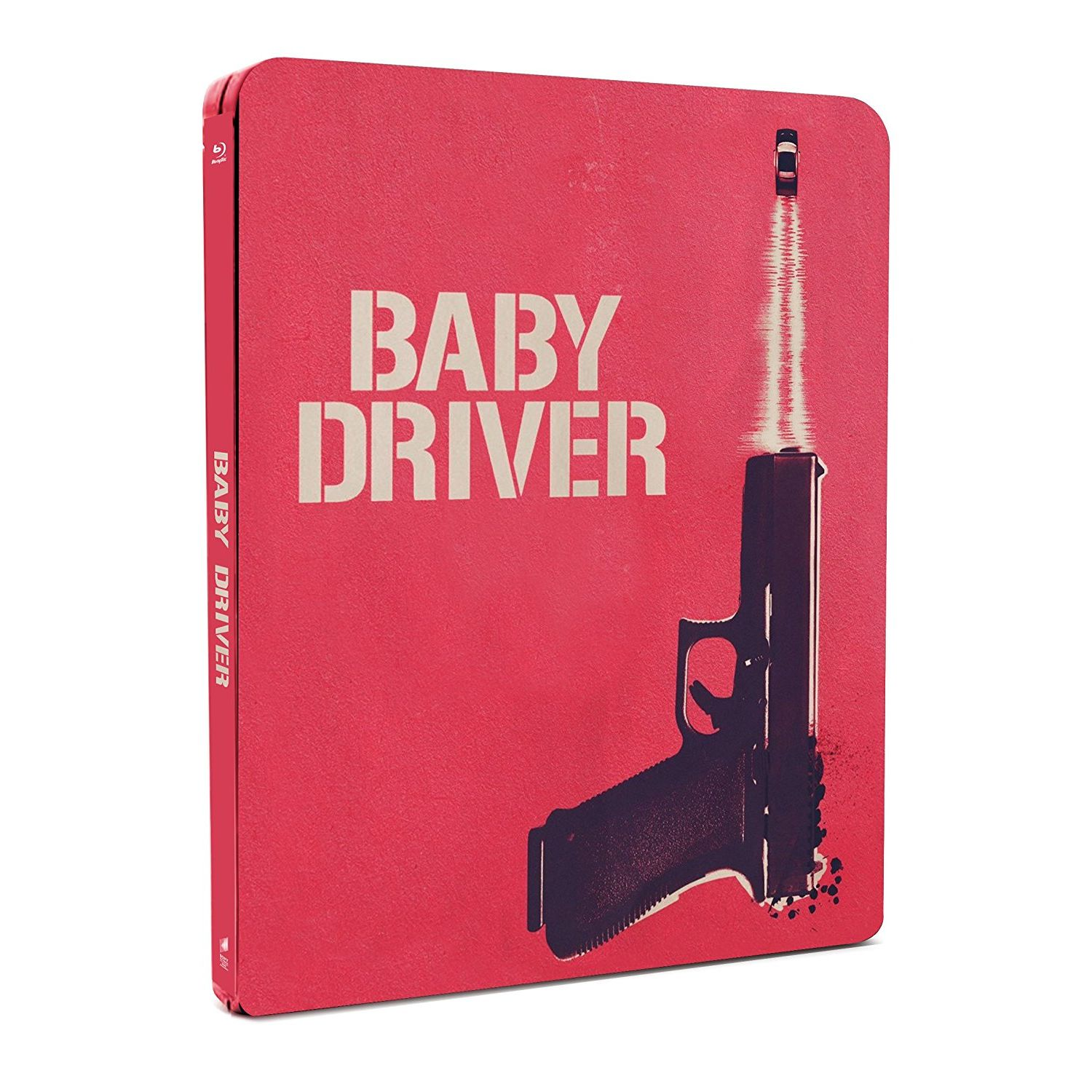 BABY DRIVER Limited Edition Steelbook (BLU-RAY)