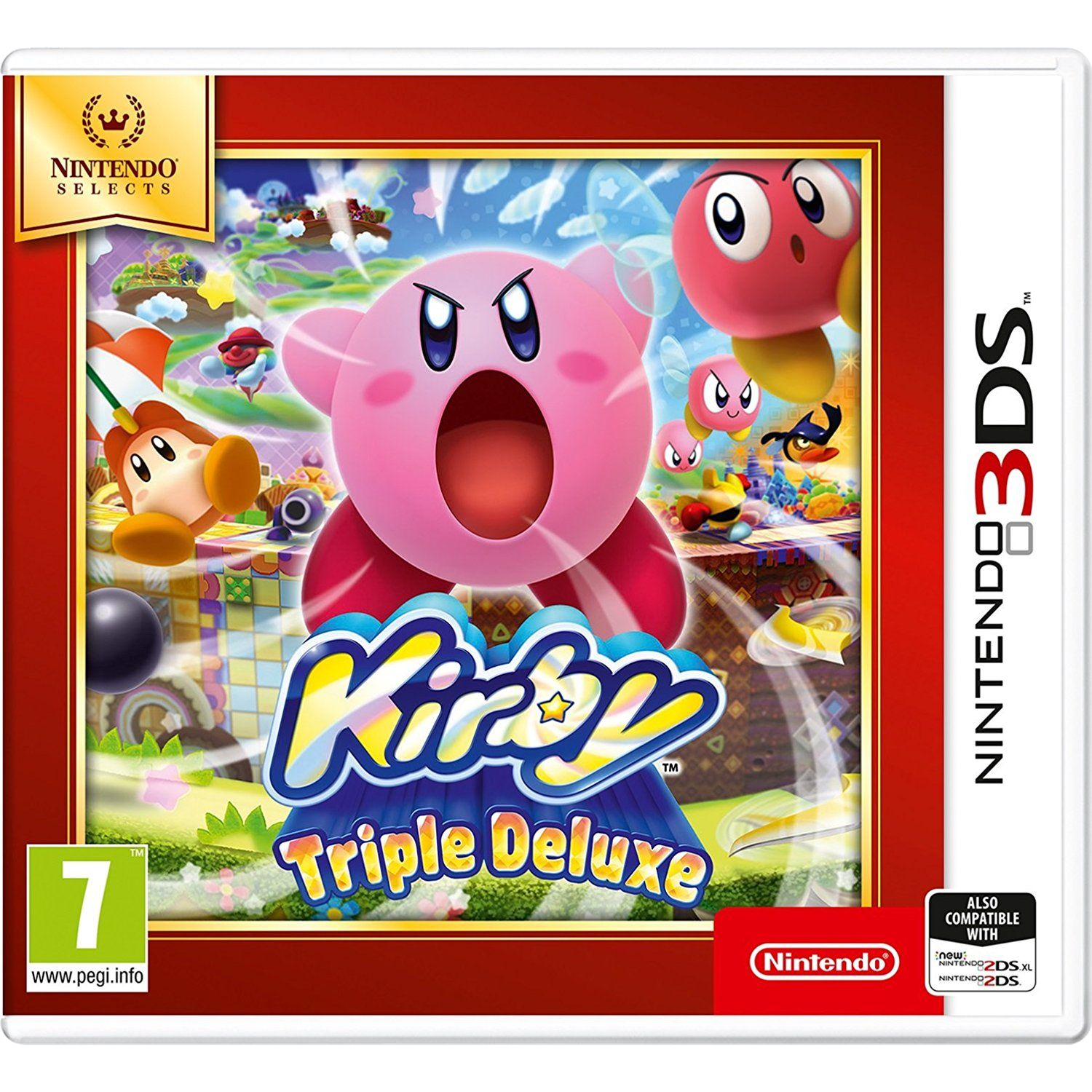 KIRBY TRIPLE DELUXE - SELECTS (3DS, 2DS)