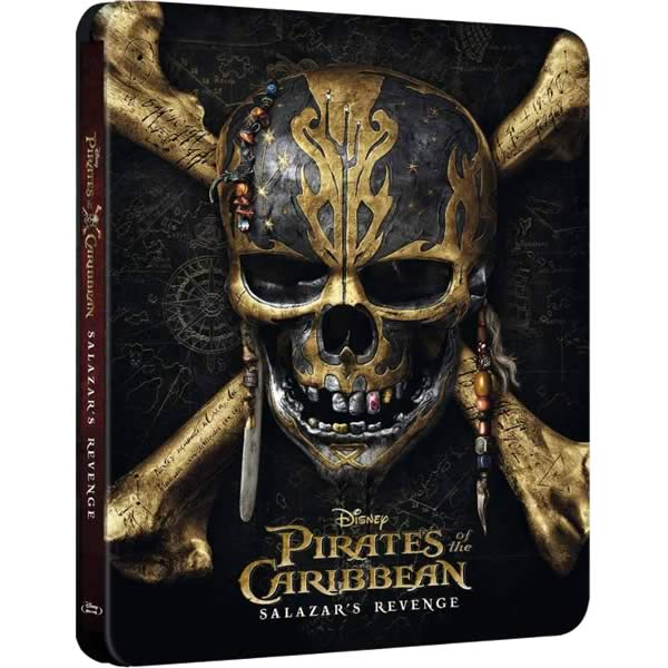 PIRATES OF THE CARIBBEAN: SALAZAR'S REVENGE 3D - PIRATES OF THE CARIBBEAN: DEAD MEN TELL NO TALES 3D [Imported] (BLU-RAY 3D + BLU-RAY)