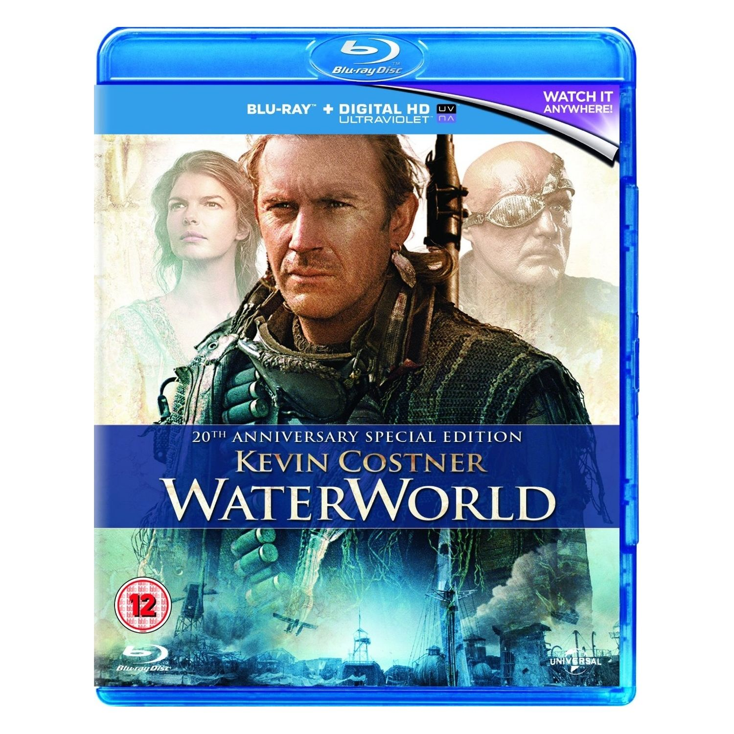 WATERWORLD - ΥΔΑΤΙΝΟΣ ΚΟΣΜΟΣ 20th Anniversary Special Edition (BLU-RAY)