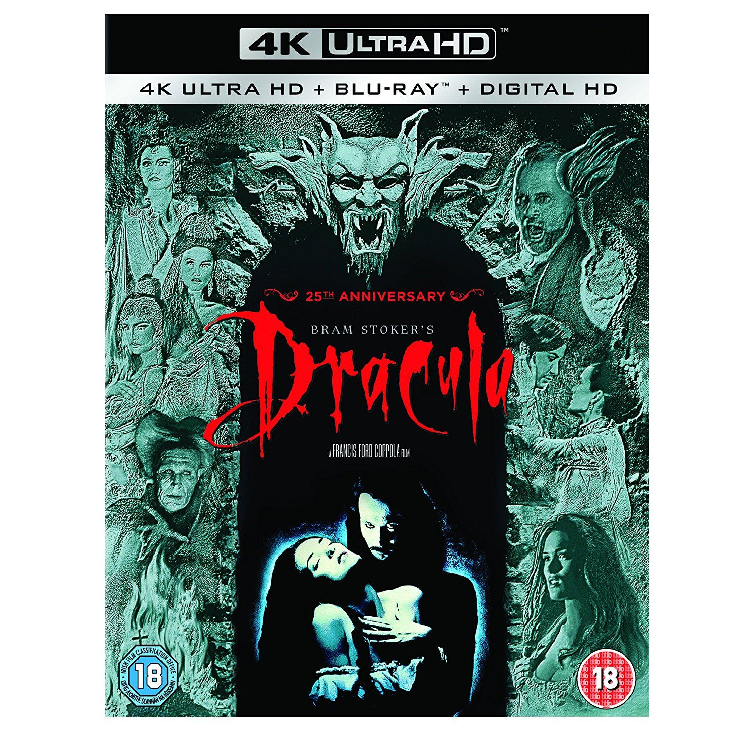 BRAM STOCKER'S DRACULA - Ο ΔΡΑΚΟΥΛΑΣ [4K ReMASTERED] (4K UHD BLU-RAY + BLU-RAY)