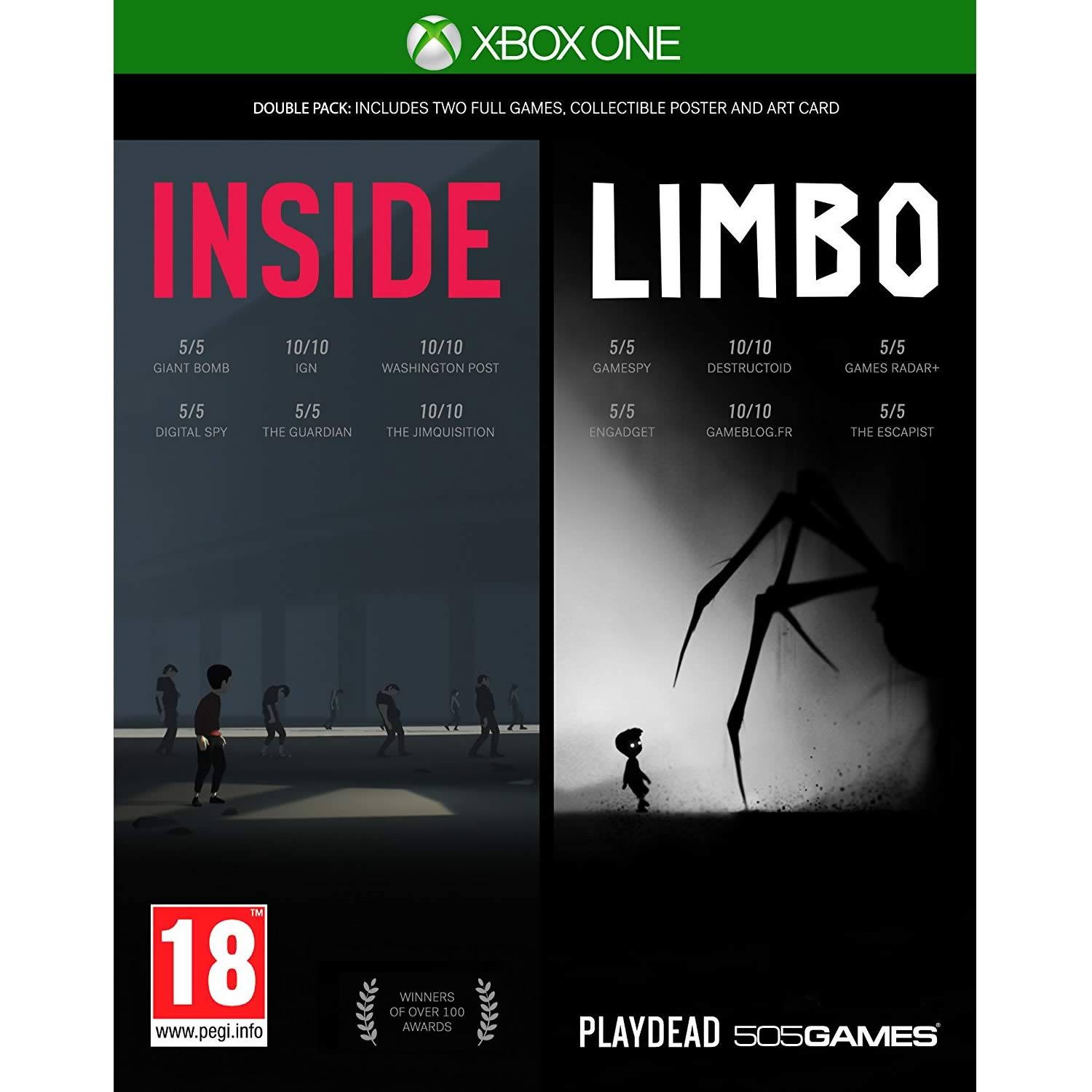 INSIDE & LIMBO - DOUBLE PACK (XBOX ONE)