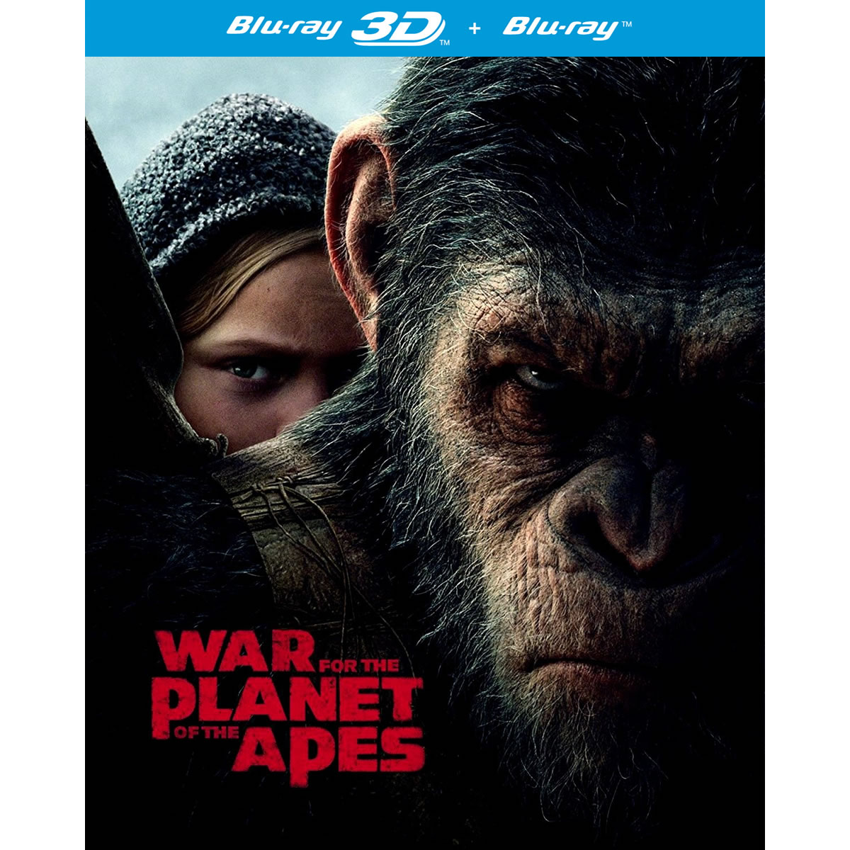 WAR FOR THE PLANET OF THE APES 3D (BLU-RAY 3D/2D)