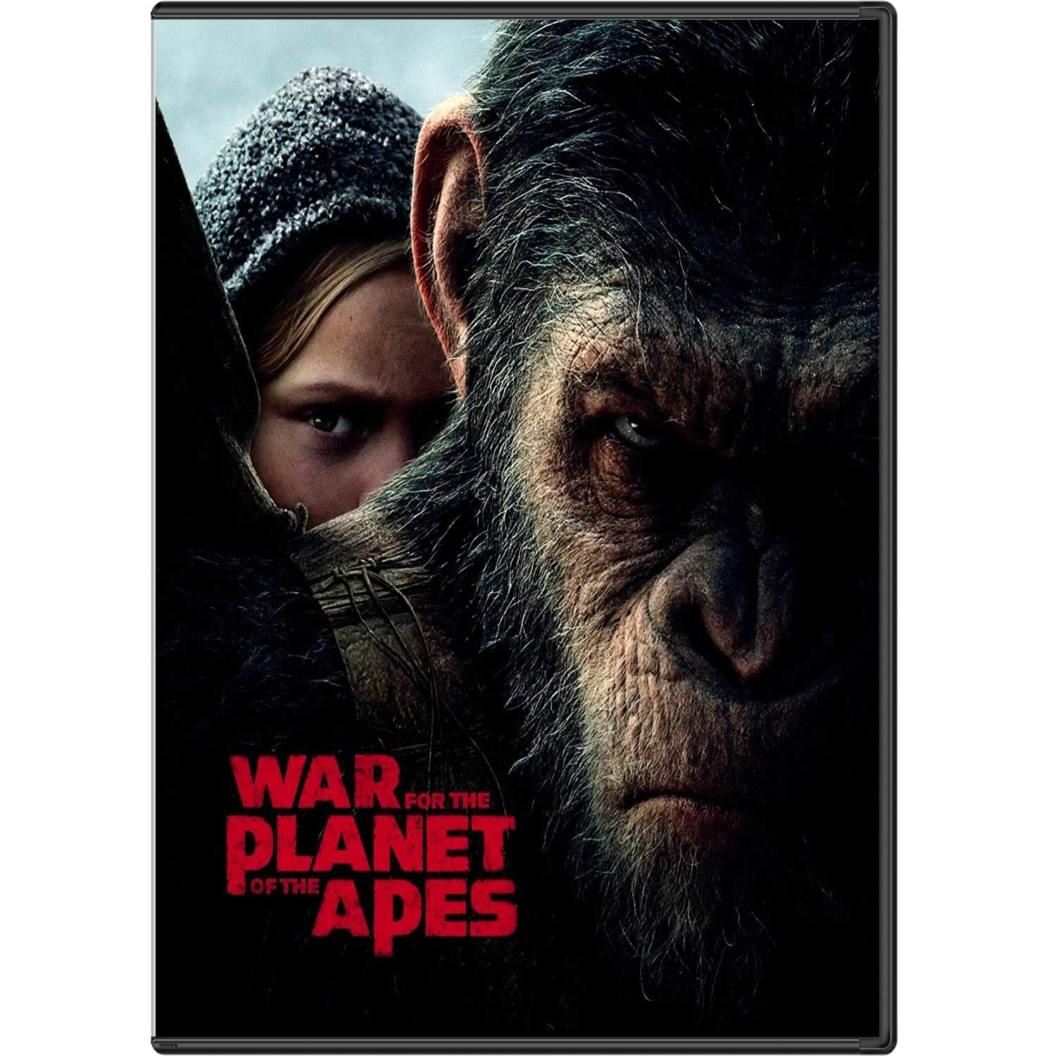 WAR FOR THE PLANET OF THE APES - Ο ΠΛΑΝΗΤΗΣ ΤΩΝ ΠΙΘΗΚΩΝ: Η ΣΥΓΚΡΟΥΣΗ (DVD)
