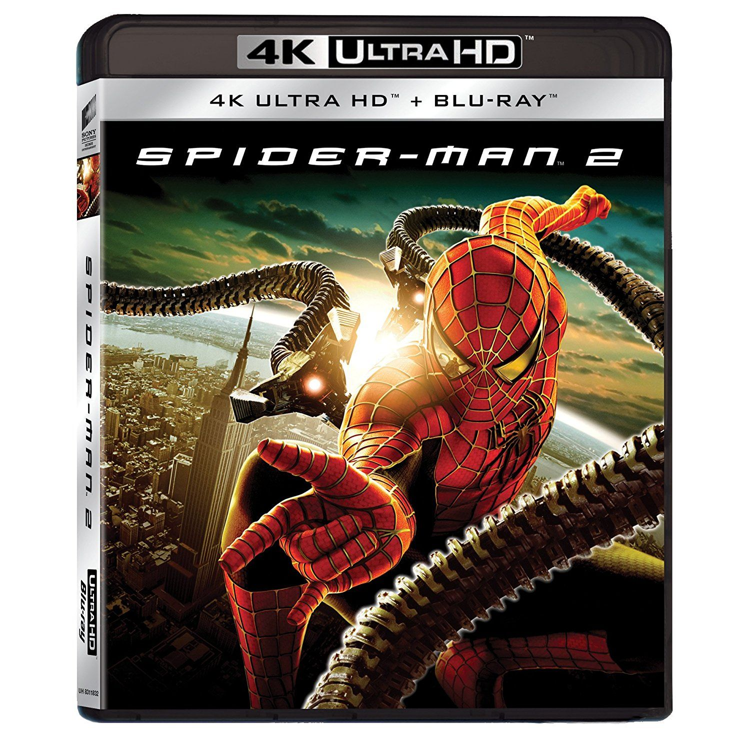 spider man 2 4k 2d 4k uhd blu ray blu ray 2d hd. Black Bedroom Furniture Sets. Home Design Ideas