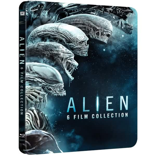 ALIEN 6-FILM COLLECTION Limited Edition Steelbook (6 BLU-RAY)