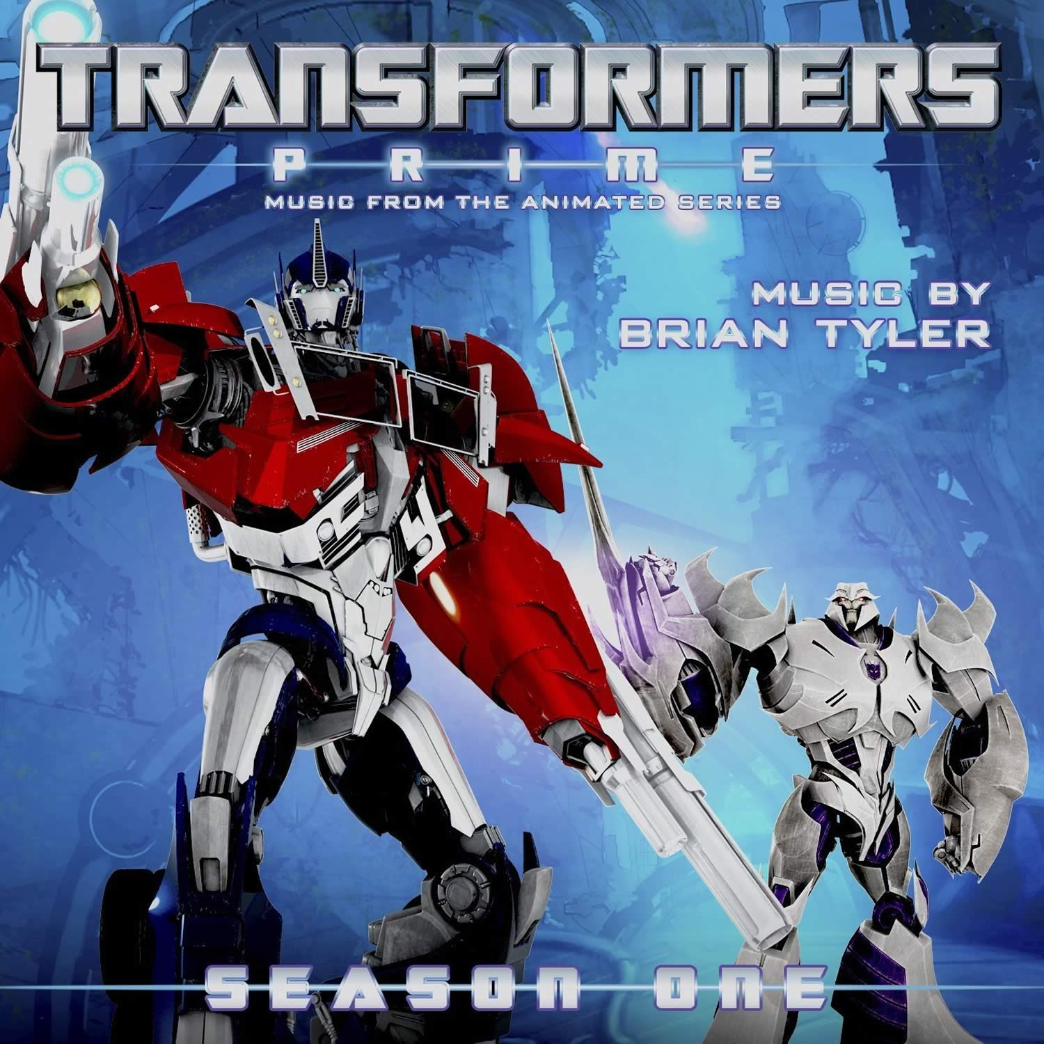 TRANSFORMERS PRIME - MUSIC FROM THE ANIMATED SERIES SEASON ONE(AUDIO CD)