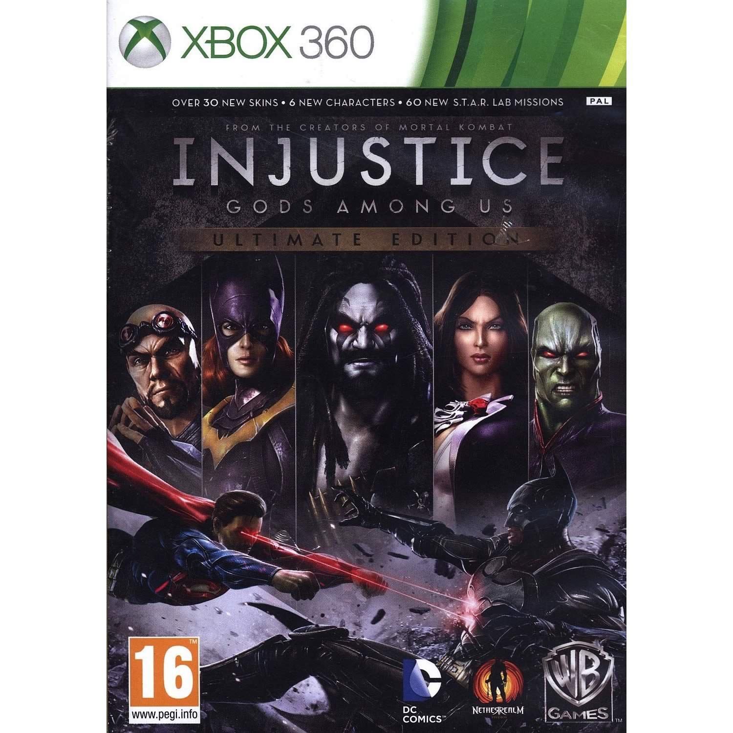 INJUSTICE GODS AMONG US - ULTIMATE EDITION (XBOX 360)