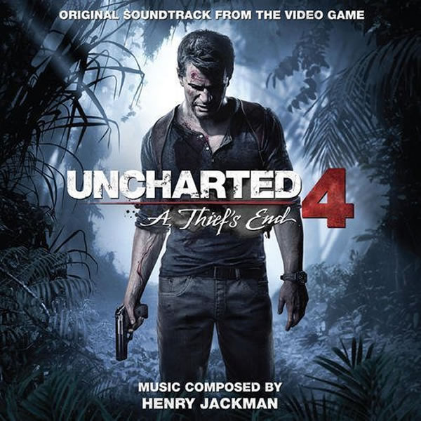 UNCHARTED 4 - A THIEF'S END: THE ORIGINAL SOUNDTRACK FROM THE VIDEO GAME  (AUDIO CD)