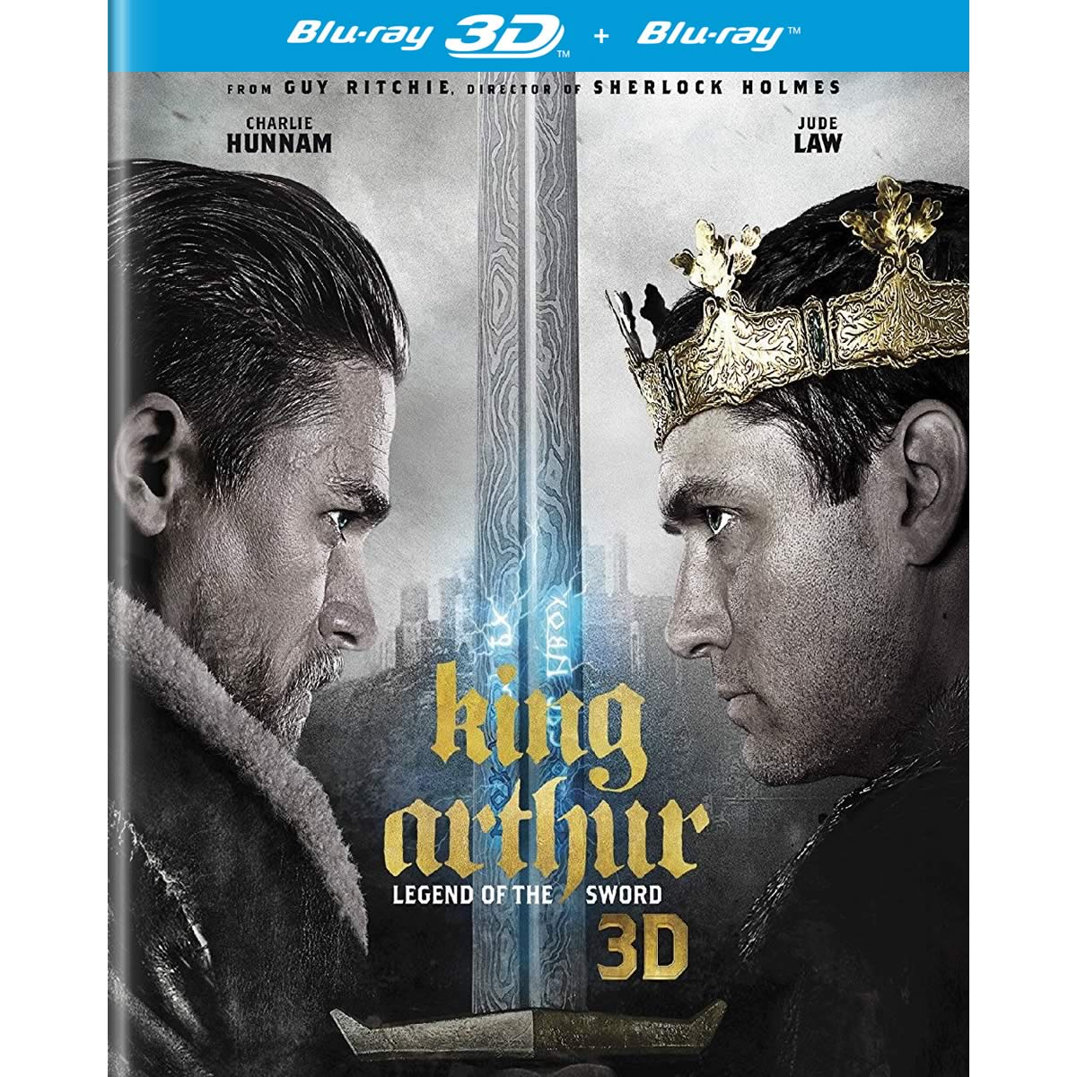 KING ARTHUR: LEGEND OF THE SWORD 3D (BLU-RAY 3D/2D)