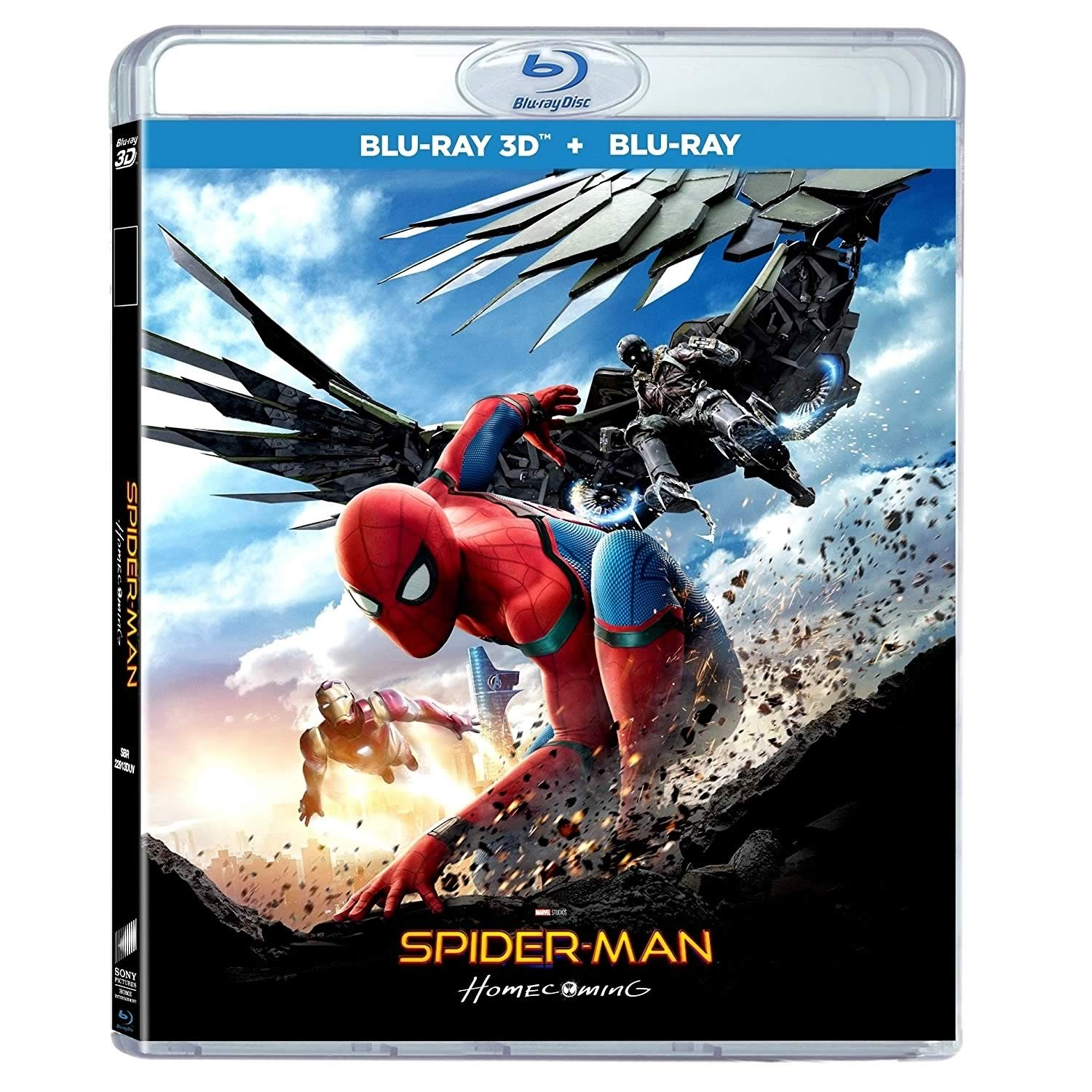 SPIDER-MAN: HOMECOMING 3D - SPIDER-MAN: H ΕΠΙΣΤΡΟΦΗ ΣΤΟΝ ΤΟΠΟ TOY 3D (BLU-RAY 3D/2D)