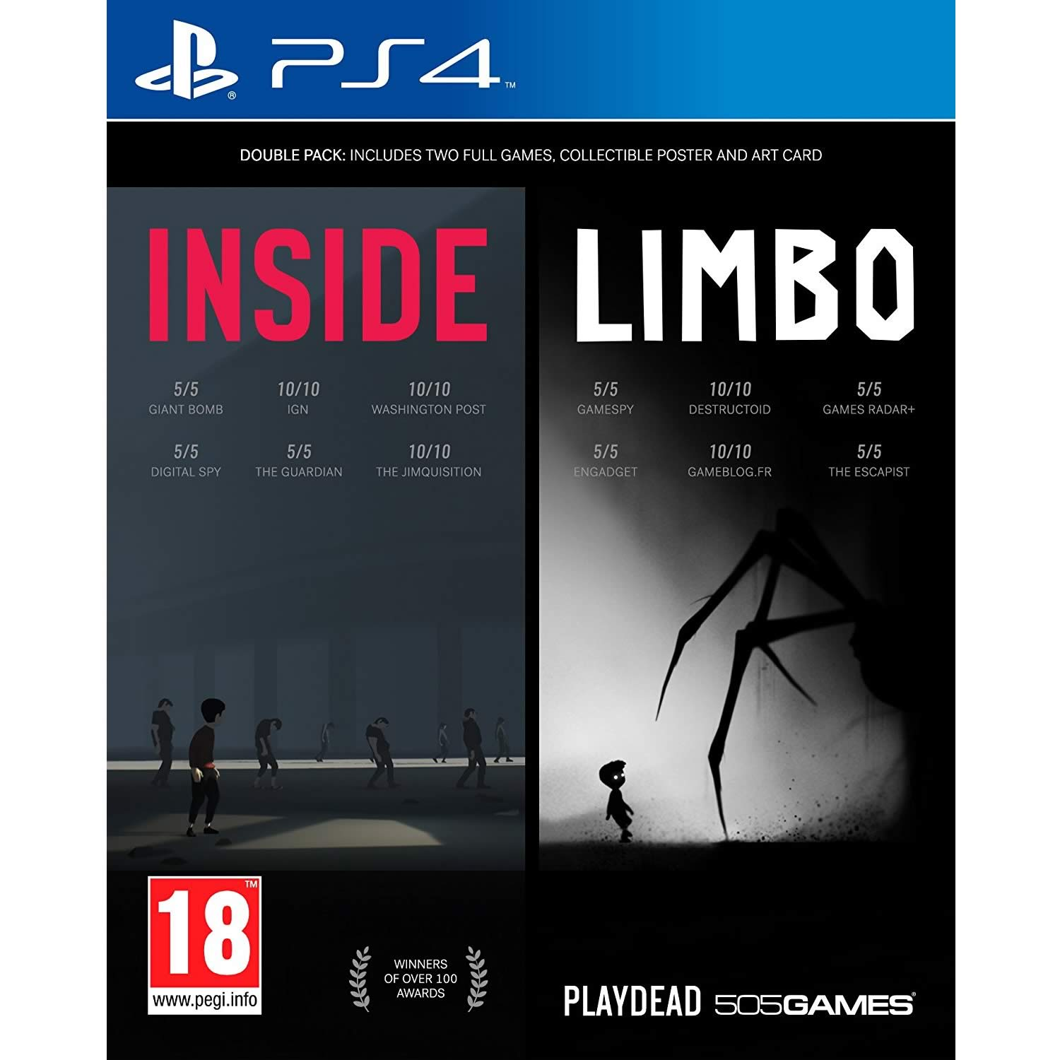 INSIDE & LIMBO - DOUBLE PACK (PS4)
