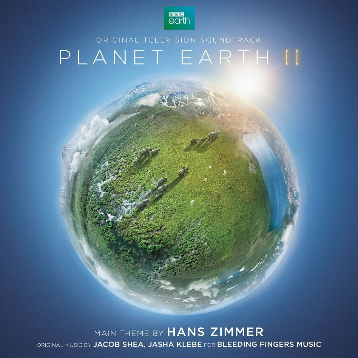 PLANET EARTH II - THE ORIGINAL TELEVISION SOUNDTRACK (2 AUDIO CDs)