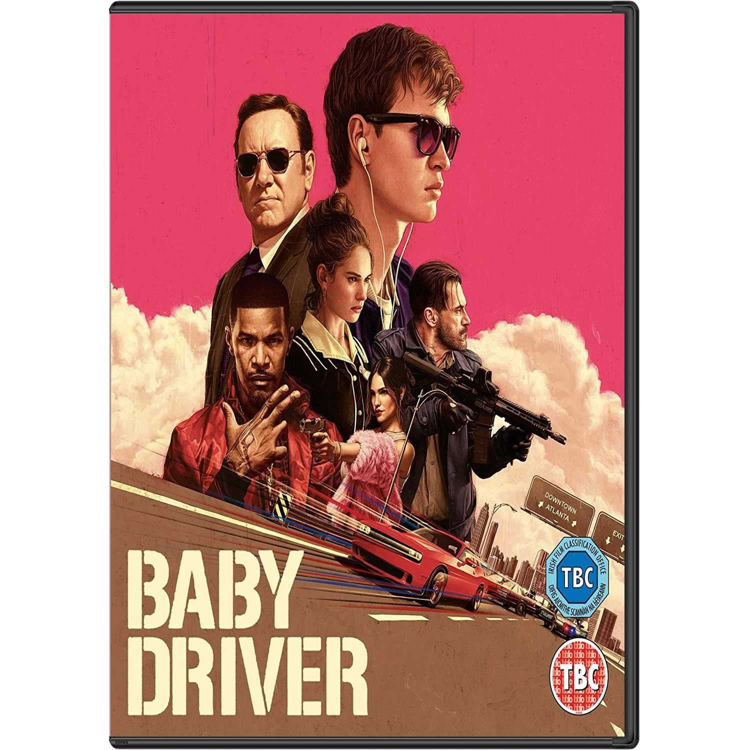 BABY DRIVER (DVD)