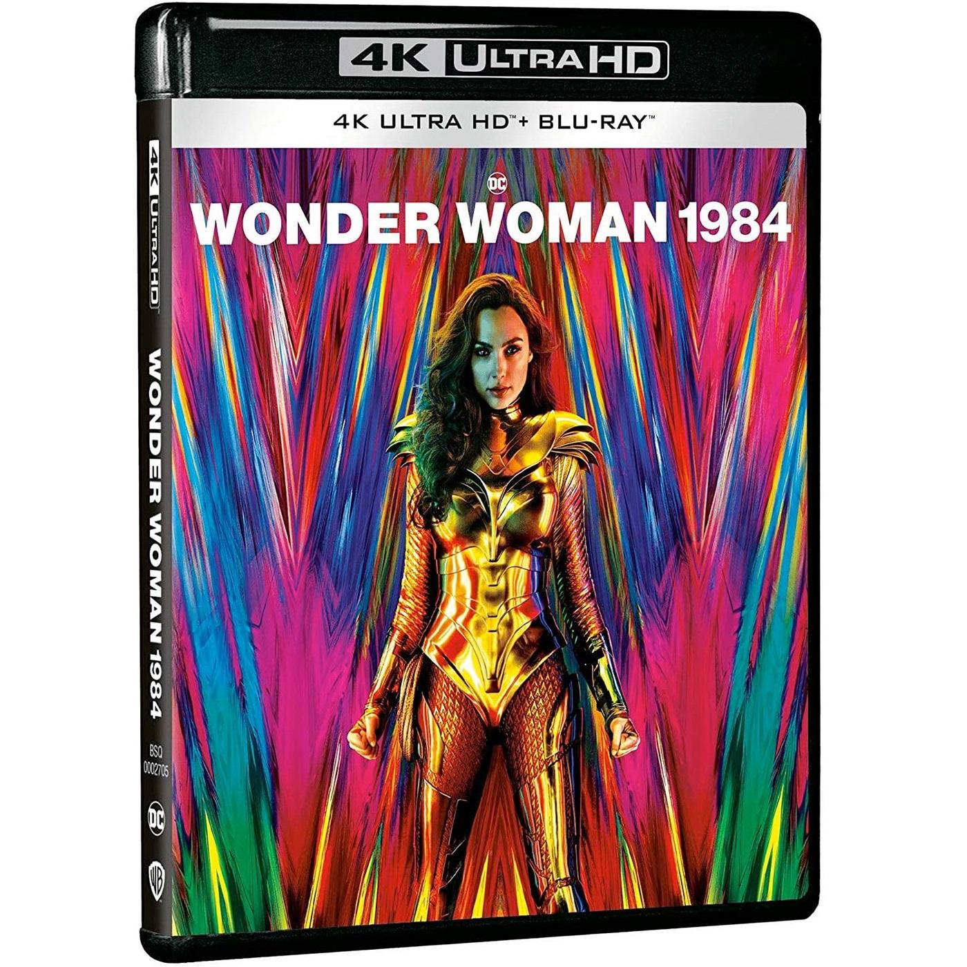 WONDER WOMAN 1984 4K+2D (4K UHD BLU-RAY + BLU-RAY 2D)