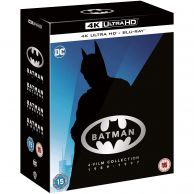 BATMAN 4K+2D 4-FILM Collection 1989-1997 [Imported] (4K UHD BLU-RAY + BLU-RAY)