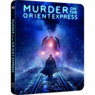 MURDER ON THE ORIENT EXPRESS - ΕΓΚΛΗΜΑ ΣΤΟ ΟΡΙΑΝ ΕΞΠΡΕΣ Limited Edition Steelbook (BLU-RAY)