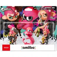 NINTENDO AMIIBO Φιγούρα: OCTOLING 3-Pack Splatoon Series