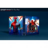 SPIDER-MAN: FAR FROM HOME 4K+3D+2D - SPIDER-MAN: ΜΑΚΡΙΑ ΑΠΟ ΤΟΝ ΤΟΠΟ ΤΟΥ 4K+3D+2D Limited Edition Steelbook VISUAL #4 ΑΠΟΚΛΕΙΣΤΙΚΟ (4K UHD BLU-RAY + BLU-RAY 3D + BLU-RAY 2D + BLU-RAY BONUS)