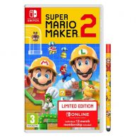 SUPER MARIO MAKER 2 + NSO + STYLUS Limited Edition (NSW)
