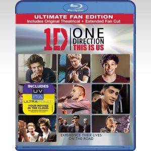 1D ONE DIRECTION: THIS IS US Extended - ULTIMATE FAN EDITION (BLU-RAY)