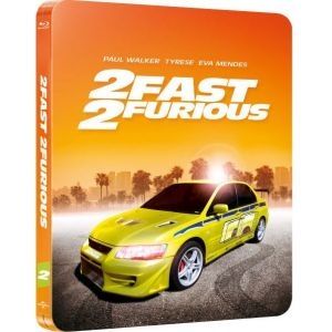 2 FAST 2 FURIOUS Limited Collector's Edition Steelbook [Imported] (BLU-RAY)