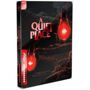 A QUIET PLACE 4K+2D - ΕΝΑ ΗΣΥΧΟ ΜΕΡΟΣ 4K+2D Limited Edition Steelbook NEW VISUAL ΑΠΟΚΛΕΙΣΤΙΚΟ (4K UHD BLU-RAY + BLU-RAY 2D)