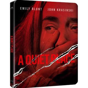 A QUIET PLACE - ΕΝΑ ΗΣΥΧΟ ΜΕΡΟΣ Limited Edition Steelbook (BLU-RAY)
