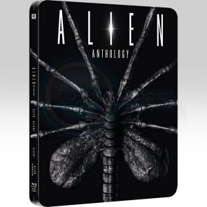 ALIEN ANTHOLOGY Steelbook [Imported] (4 BLU-RAYs)