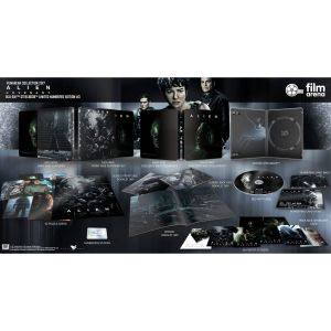 ALIEN: COVENANT Limited Collector's Numbered Edition Exclusive Steelbook + BOOKLET + Puzzle Cards + Poster Stickers (BLU-RAY)